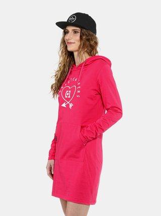 Horsefeathers IVEY rose red krátké letní šaty - růžová
