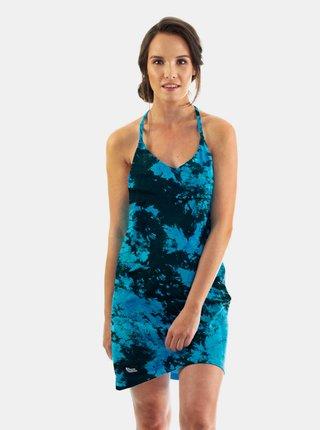 Horsefeathers VIOLA BLUE TIE DYE krátké letní šaty