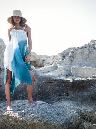 Bílo-modré šaty BARTS
