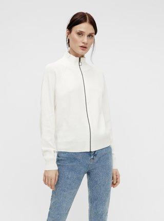 Bílý kardigan na zip .OBJECT-Divian