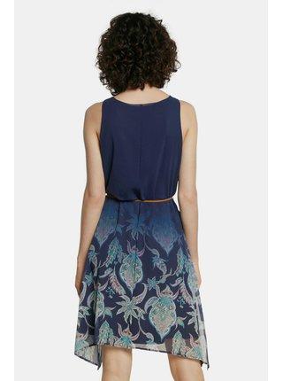 Desigual modré šaty Vest Jane