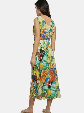 Desigual barevné letní šaty Vest Ibiza