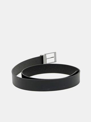 Černý pánský pásek Tommy Hilfiger