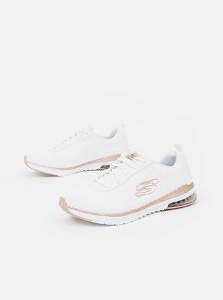 Biele dámske tenisky Skechers
