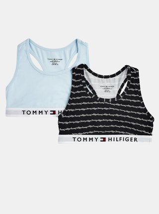 Barevný 2 pack dívčích podprsenek Tommy Hilfiger Bralette