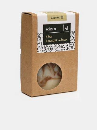 Caltha Tuhé mýdlo Káva a kakaové máslo 100 g