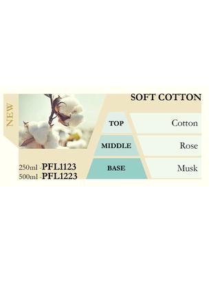 Náplň do katalytické lampy SOFT COTTON (jemná bavlna) 250ml