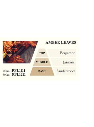 Náplň do katalytické lampy AMBER LEAVES (jantarové listy), 500 ml