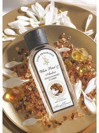 Náplň do katalytické lampy WHITE PETAL & AMBER (bílé květy a ambra), 500 ml
