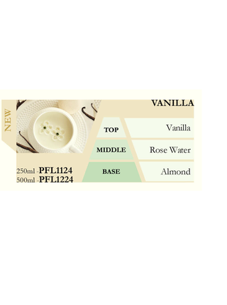 Náplň do katalytické lampy VANILLA (vanilka) 500 ml