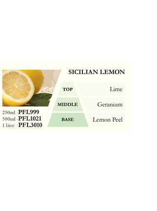 Náplň do katalytické lampy SICILIAN LEMON (sicilský citron), 1000 ml