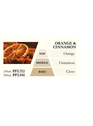 Náplň do katalytické lampy ORANGE & CINNAMON (pomeranč se skořicí) 500 ml