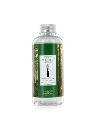 Náhradní náplň do difuzéru THE SCENTED HOME - WHITE CEDAR & BERGAMOT (bílý cedr s bergamotem), 150 ml