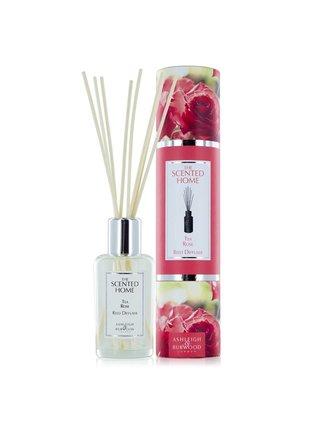 Difuzér THE SCENTED HOME - TEA ROSE (čajová růže), 150 ml