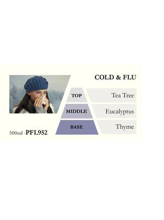 Náplň do katalytické lampy COLD & FLU (chřipka a nachlazení) 500 ml
