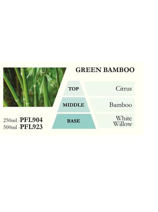 Náplň do katalytické lampy GREEN BAMBOO (zelený bambus) 500 ml