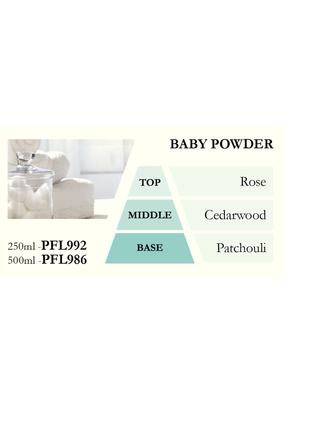 Náplň do katalytické lampy BABY POWDER (dětský pudr) 500 ml