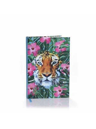 Zápisník WILD THINGS - CROUCHING TIGER