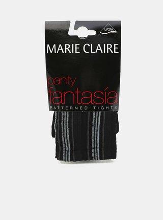 Pančuchy a pančucháče pre ženy Marie Claire - čierna