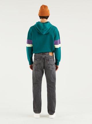 Černé pánské straight fit džíny s příměsí konopí Levi's®