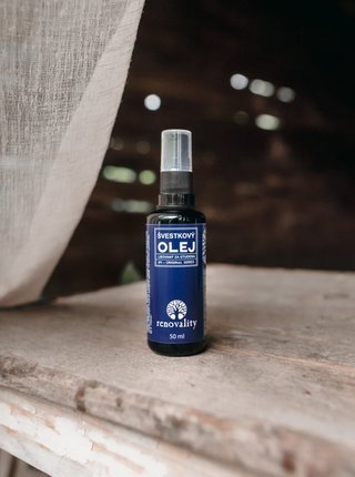 Švestkový olej pro citlivou a zralou pleť RENOVALITY (50 ml)