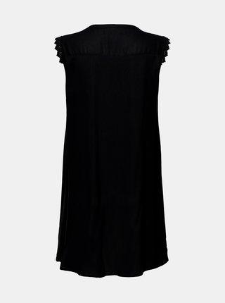 Čierne šaty ONLY CARMAKOMA Mumi