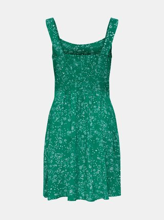Zelené květované šaty Jacqueline de Yong Staar