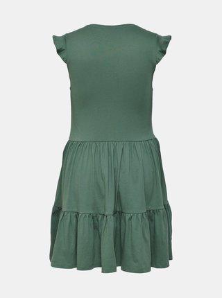 Zelené šaty ONLY CARMAKOMA April