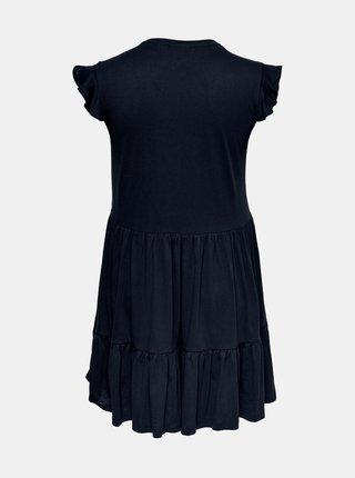 Tmavomodré šaty ONLY CARMAKOMA April