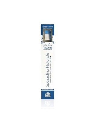 Officina Naturae Eco-friendly zubní kartáček Soft modrý 1 ks