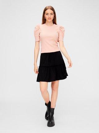 Čierna sukňa Pieces Neora