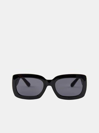 Černé sluneční brýle Pieces Lupi
