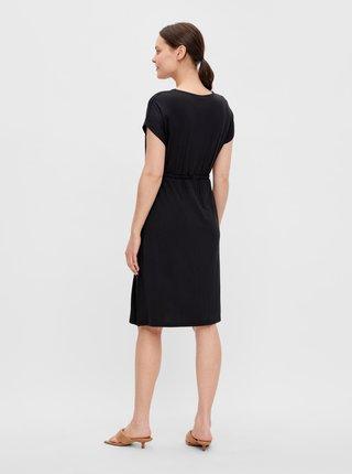 Voľnočasové šaty pre ženy Mama.licious - čierna