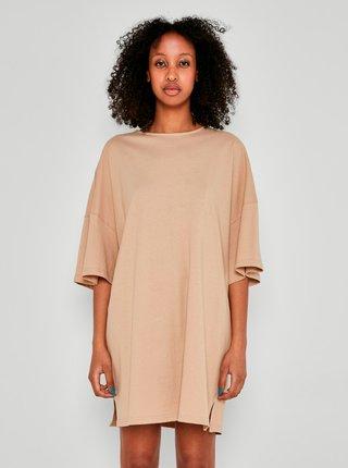 Šaty pre ženy Noisy May - béžová