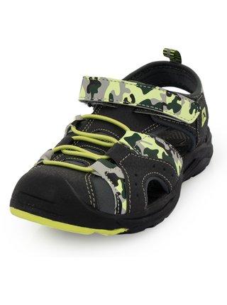 Dětská obuv městská ALPINE PRO BIELO šedá
