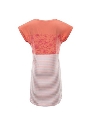 Dámské šaty ALPINE PRO CLEYA oranžová
