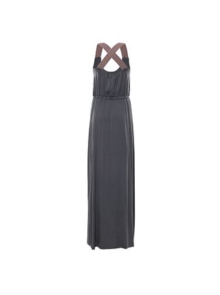Dámské šaty ALPINE PRO ZELDA šedá