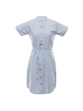 Dámské šaty ALPINE PRO LIBA modrá