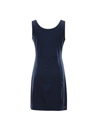 Dámské rychleschnoucí šaty ALPINE PRO ELANDA 4 modrá