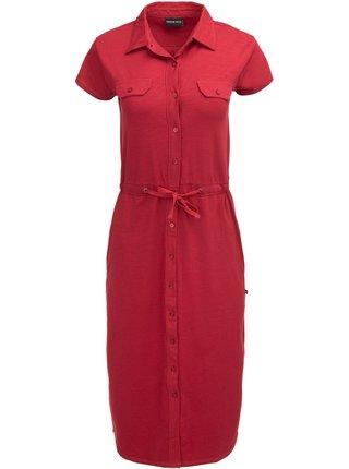 Dámská šaty, sukně ALPINE PRO JUFFA červená