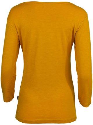 Dámské triko ALPINE PRO CAYLA žlutá