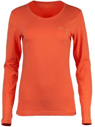 Dámské triko ALPINE PRO ENSLA oranžová