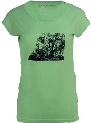 Dámské triko ALPINE PRO LAKYLA zelená