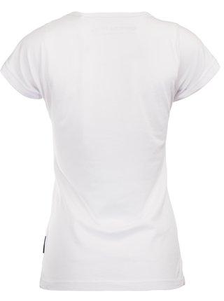 Dámské triko ALPINE PRO DAFKA bílá