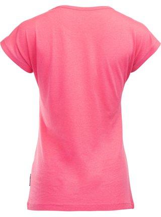 Dámské triko ALPINE PRO DAFKA růžová
