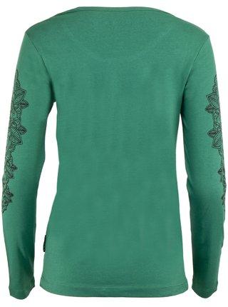 Dámské triko ALPINE PRO DIDAKA zelená