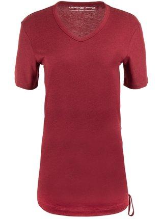 Dámské triko ALPINE PRO AIKA červená