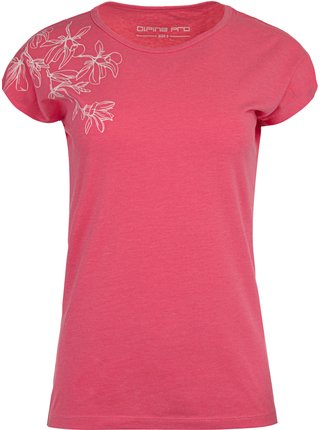 Dámské triko ALPINE PRO POSKA růžová