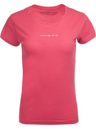 Dámské triko ALPINE PRO VENNA růžová