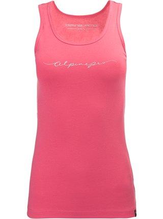Dámské triko ALPINE PRO KOBALA růžová